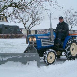 Winterdienst gebruikt